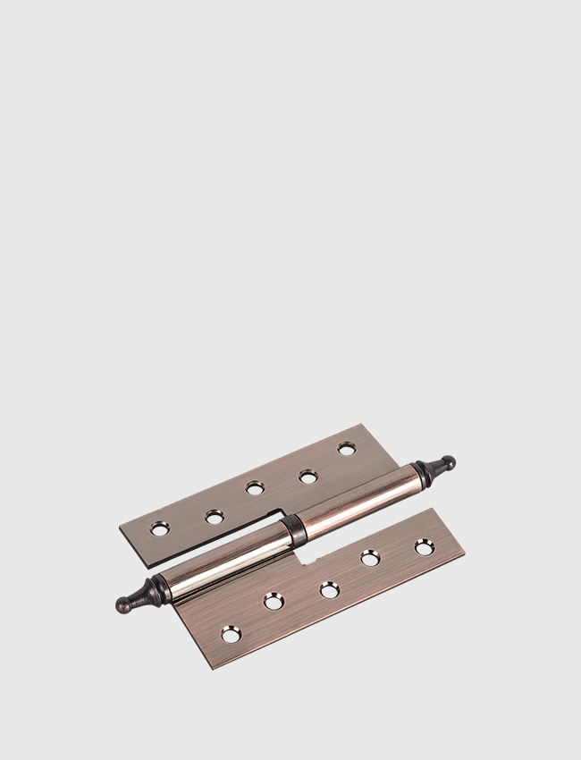 Crown hinge - red bronze